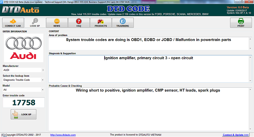 Scanner - Scantool - OBDI - OBDII - OBD2 - Automatic