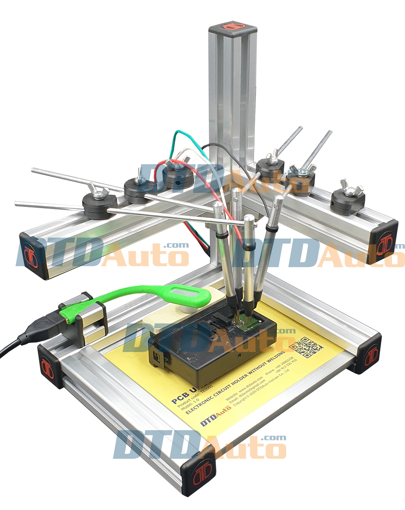 PCB UNSOLDER - ELECTRONIC CIRCUIT HOLDER WITHOUT WELDING