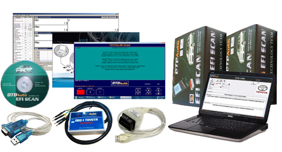 EFI SCAN 1.5+ - DIAGNOSTIC SCANNER FOR ALL KIND OF TOYOTA, LEXUS, SCION VEHICLES
