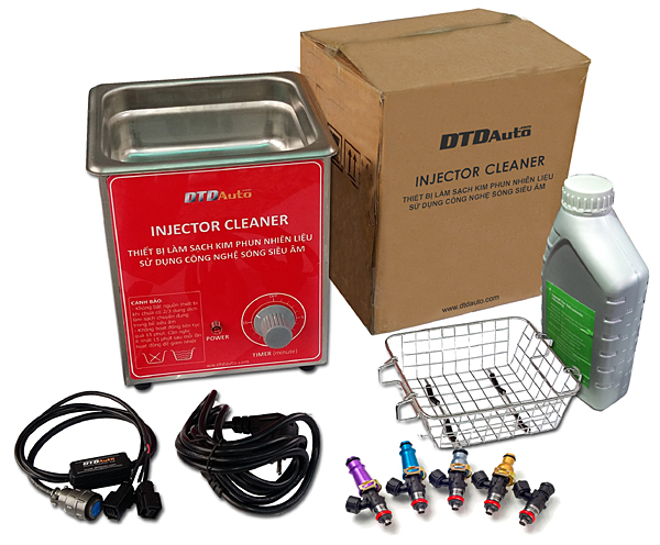 MINI-INJECTOR CLEANER - EQUIPMENT FOR CLEANING & CHECKING INJECTOR