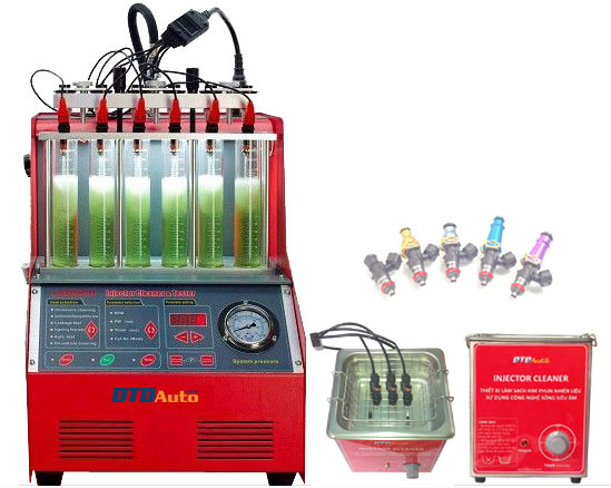 INJECTOR CLEANER – EQUIPMENT FOR CLEANING AND CHECKING INJECTOR