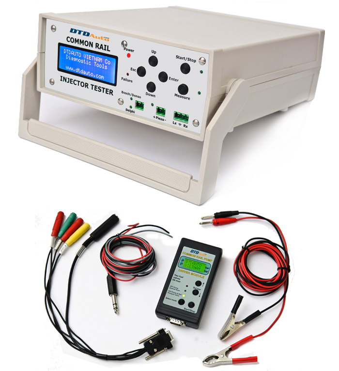 COMMON RAIL INJECTOR & PUMP TESTER