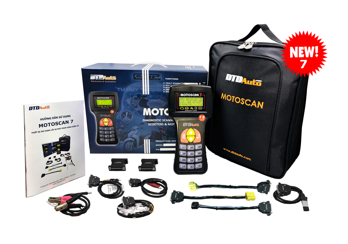 MOTOSCAN - SCANNER FOR PGM-FI/FI MOTORCYCLES & SCOOTERS
