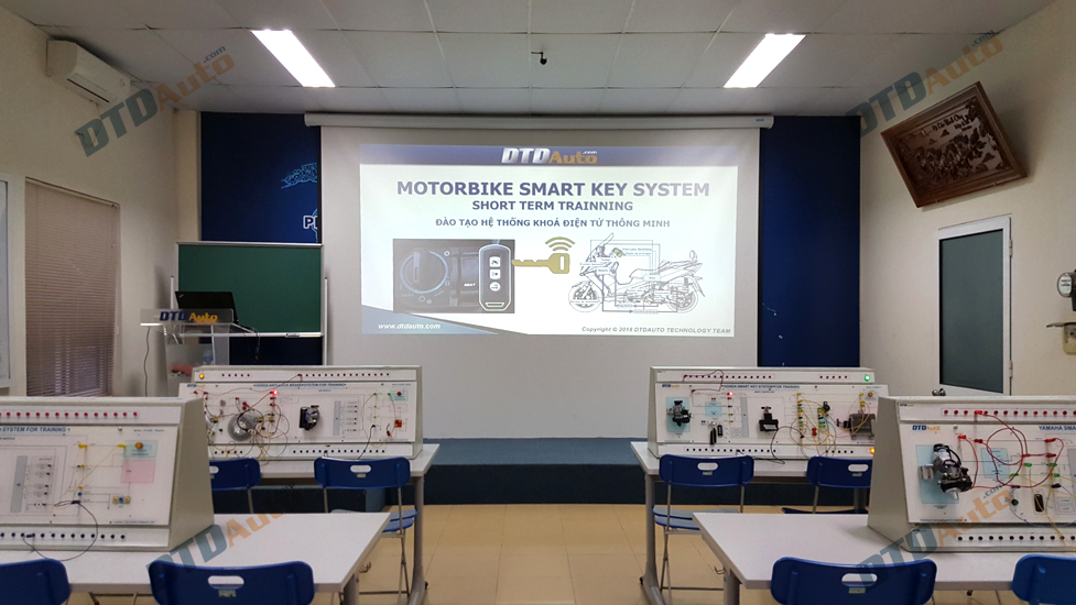 TRAINING EQUIPMENT FOR ABS & SMART KEY SYSTEM