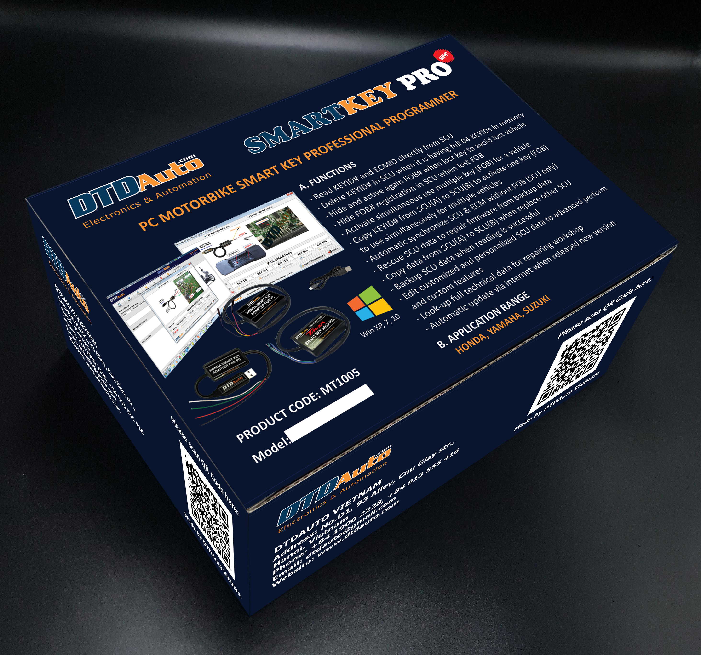 SMARTKEY PRO 7 - PC MOTORBIKE SMARTKEY PROFESSIONAL PROGRAMMER