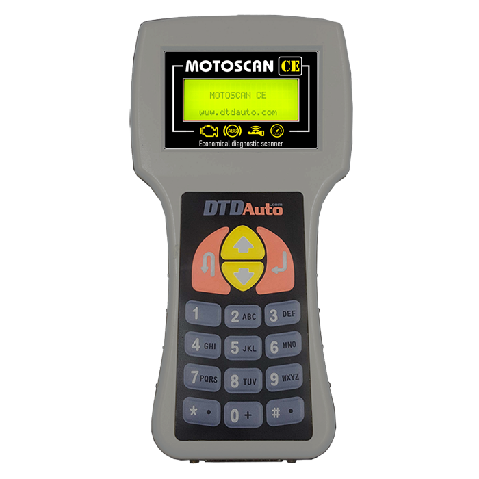 MOTOSCAN CE- SCANNER FOR PGM-FI/FI MOTORCYCLES & SCOOTERS