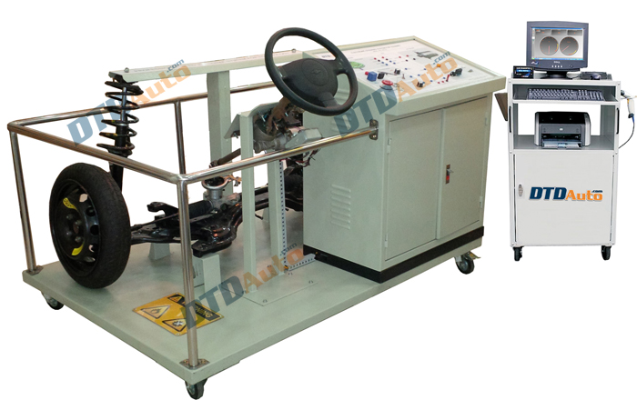 ELECTRONIC STEERING SYSTEM FOR TRAINNING